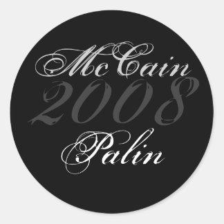 McCain 2008, Palin Runt Klistermärke