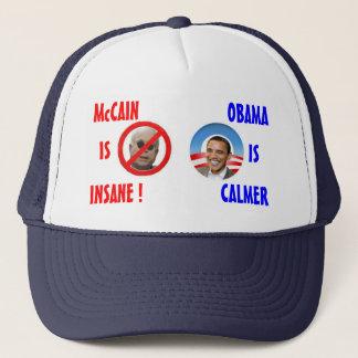 McCain/OBama hatt Truckerkeps