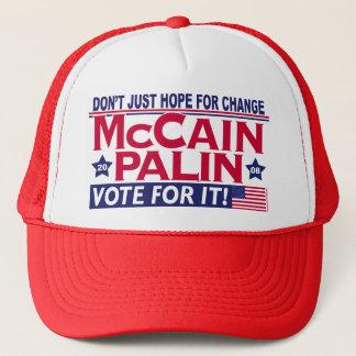 McCain Palin 2008 Truckerkeps