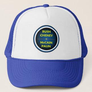 McCain Palin BUSH hatt Truckerkeps