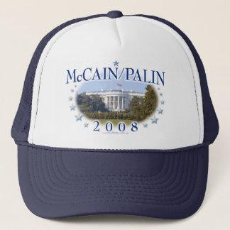 McCain Palin Vita hus 2008 Keps