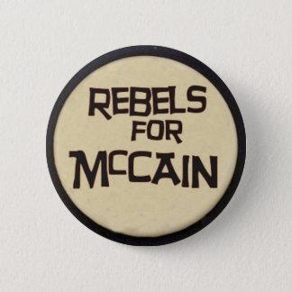 McCain rebeller knäppas Standard Knapp Rund 5.7 Cm