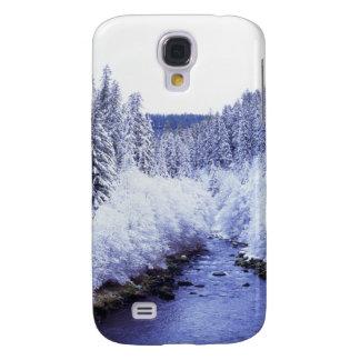 """""""McKenzie flod i vinter """", Galaxy S4 Fodral"""