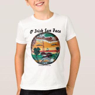 MClairArts vänder mot roliga sol Sts Patrick Tee Shirt