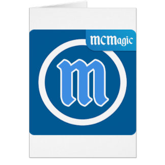 MCMagic lager Hälsningskort