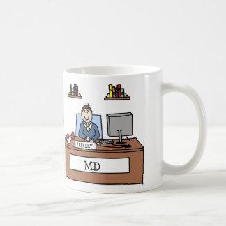 MD för personligtecknadmugg Kaffemugg