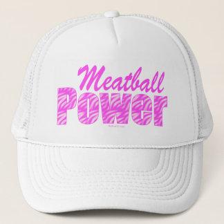 Meatballen driver hattar truckerkeps