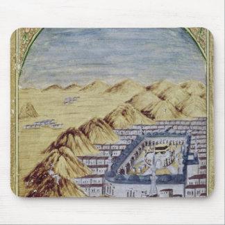 Mecka som omges av bergen av Arafa Mus Mattor