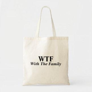 Med familjtotot budget tygkasse