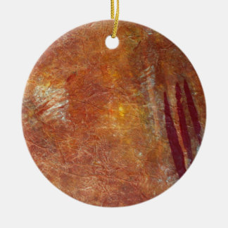 Med klon markerar julgransprydnad keramik