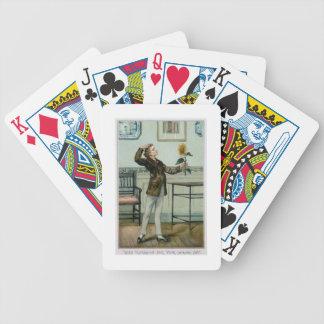 Med längtan för din intensiva glädje Victorian Chr Spelkort