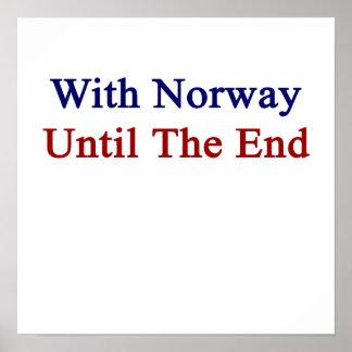 Med norge till avsluta poster