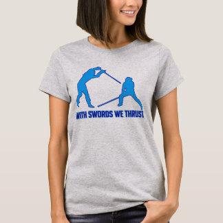 Med svärd oss framstöt - HEMA-skjorta Tee Shirt