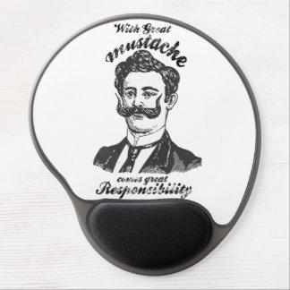 Med underbar mustasch kommer underbart ansvar gelé musmatta