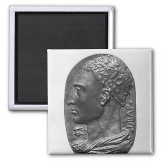 Medaljongsjälvporträtt Magnet