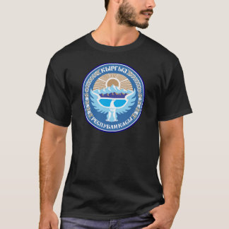 MedborgareEmblem av Kirgizistan Tee Shirts