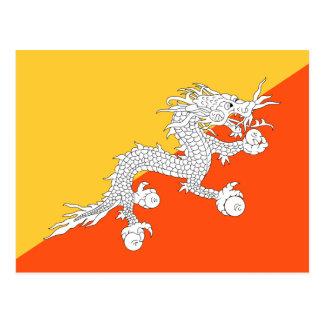 Medborgareflagga av Bhutan Vykort