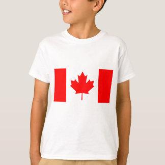 Medborgareflagga av Kanada - Drapeau du Kanada T Shirts