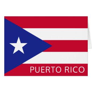 Medborgareflagga av Puerto Rico OBS Kort