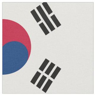 Medborgareflagga av Sydkorea Tyg
