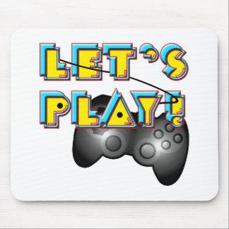Medborgarevideospeldagen - låt oss leka! musmatta
