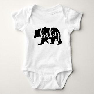 Meddelande för babybjörngravid, nyfödd bebis tee shirt