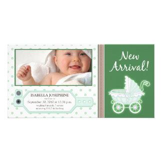 Meddelande för födelse för baby för sjukhuslegitim