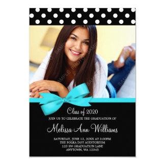 Meddelande för studenten för foto för 12,7 x 17,8 cm inbjudningskort