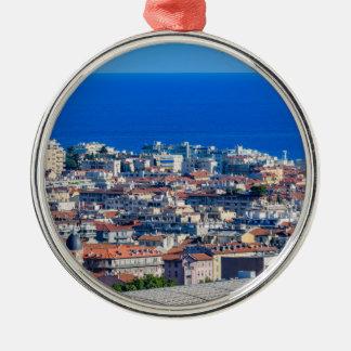 Medelhavs- hav julgransprydnad metall