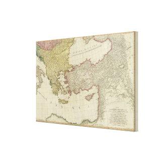 Medelhavs- öster canvastryck