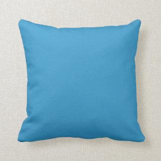 medelhimmelblått kudder kudde