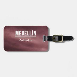 Medellin Colombia Luggage Tag