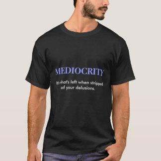 MEDELMÅTTA svart Tee Shirt