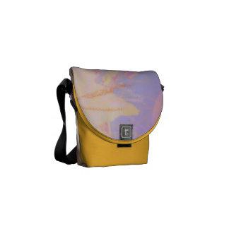 Medelsaffran för messenger bagmedvetenhetdesign kurir väskor