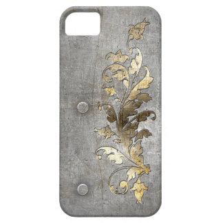 medeltida armormetalldekoration iPhone 5 fodraler