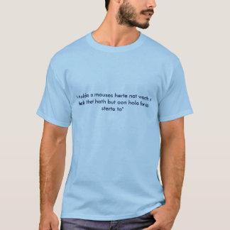 Medeltida citationsteckenutslagsplatsskjorta tee shirts