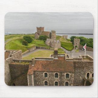 Medeltida Dover slott Kent England Musmatta