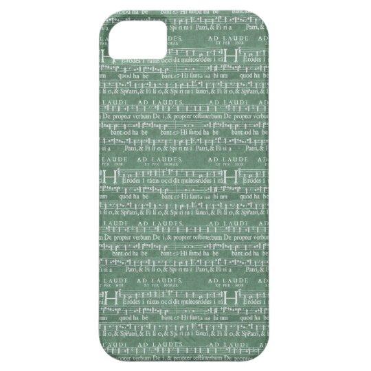 Medeltida fodral för musikmanuskriptiPhone 5 iPhone 5 Case-Mate Skydd