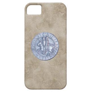 Medeltida försegla av riddarna Templar iPhone 5 Fodral