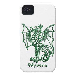 Medeltida heraldikWyvern iPhone 4 Case-Mate Case