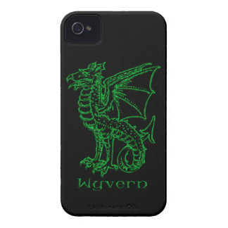 Medeltida heraldikWyvern iPhone 4 Case-Mate Cases
