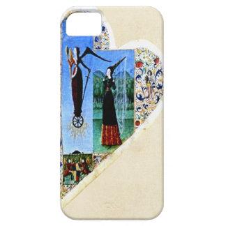 Medeltida hjärtaFodral-Kompis fodral iPhone 5 Cover