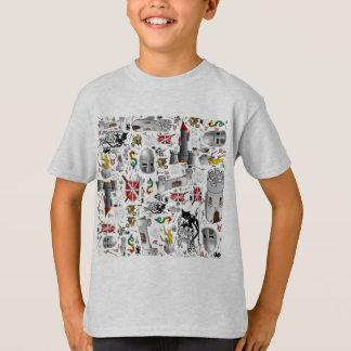 Medeltida Mosa-upp T Shirts