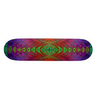 Medeltida Time snedvrider utrymmeportalen till Mini Skateboard Bräda 18,5 Cm