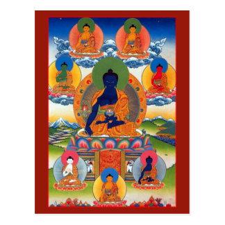 Medicin Buddha Vykort
