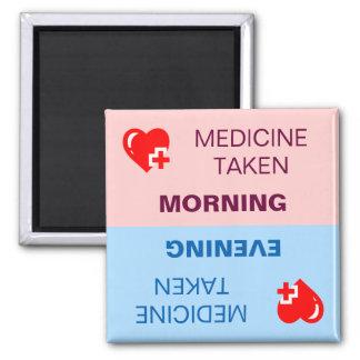 Medicin tagen påminnelse