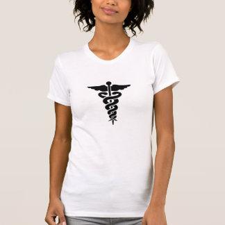 Medicinsk symbolCaduceus för sjuksköterskor Tee Shirt