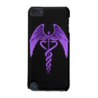 Medicinsk symbolipod touch case för purpurfärgad C