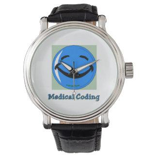 Medicinskt kodifiera för HF-sjukhus Armbandsur