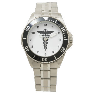 Medicinskt symbol armbandsur